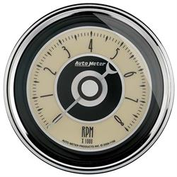 Auto Meter 1195 Cruiser AD Air-Core In-Dash Tachometer Gauge