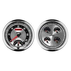 Auto Meter 1205 American Muscle Air-Core Quad Gauge