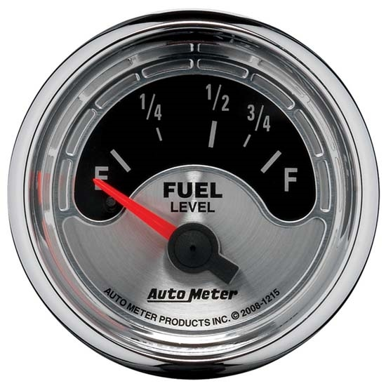 Auto Meter 1215 American Muscle Air-Core Fuel Level Gauge