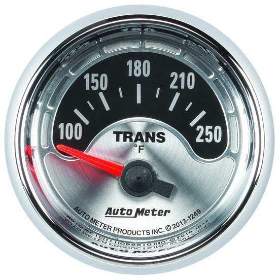 AutoMeter 1249 American Muscle Air-Core Trans Temperature Gauge