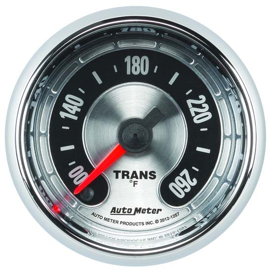 Auto Meter 1257 American Muscle Digital Stepper Motor Trans Temp Gauge