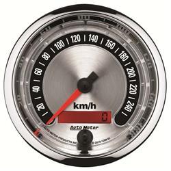 Auto Meter 1288-M American Muscle Air-Core Speedometer Gauge