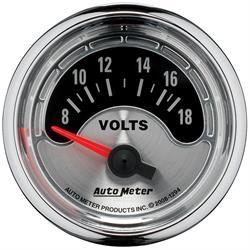 Auto Meter 1294 American Muscle Air-Core Voltmeter Gauge