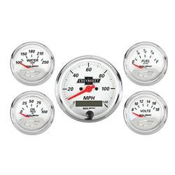 Auto Meter 1302-00408 Chevrolet Five Gauge Set