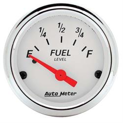 AutoMeter 1315 Arctic White Air-Core Fuel Level Gauge