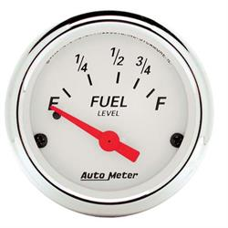 Auto Meter 1316 Arctic White Air-Core Fuel Level Gauge