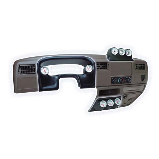 Auto Meter 15018 Triple Gauge Under Dash Pod, 1999-03 Ford Super Duty