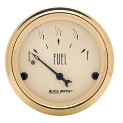 Auto Meter 1506 Golden Oldies Air-Core Fuel Level Gauge, 2-1/16 Inch