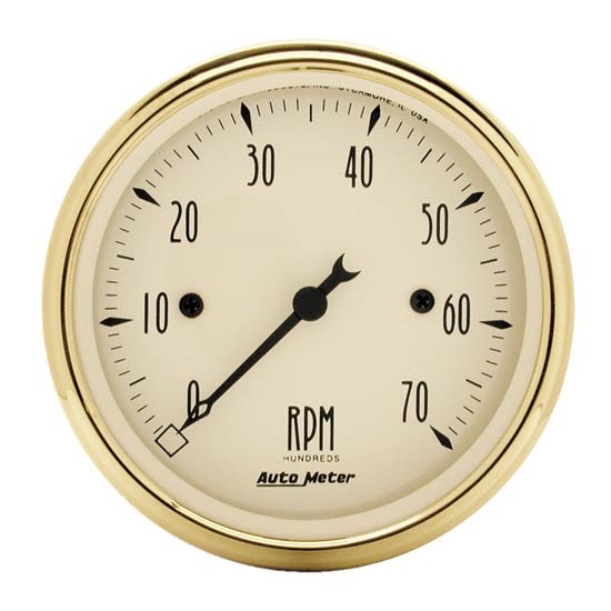 Auto Meter 1595 Golden Oldies Air-Core In-Dash Tachometer Gauge