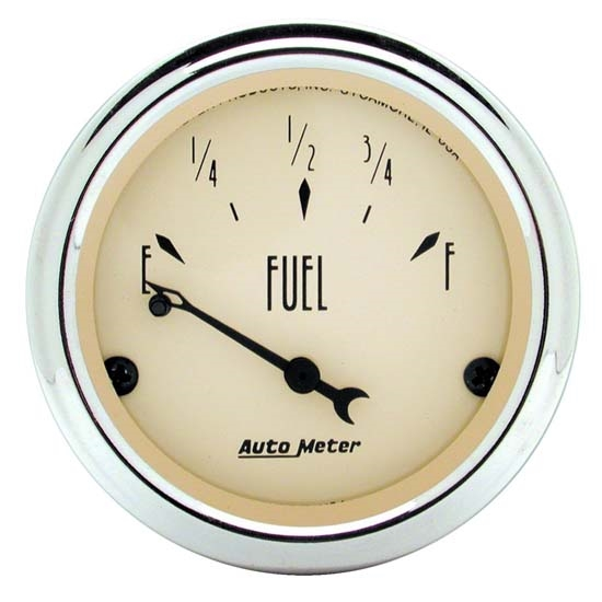 Auto Meter 1815 Antique Beige Air-Core Fuel Level Gauge