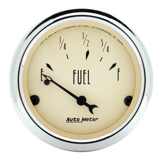 Auto Meter 1816 Antique Beige Fuel Level Gauge