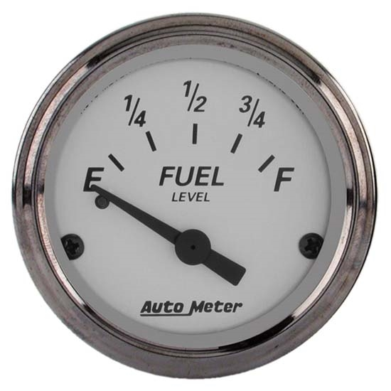 Auto Meter 1904 American Platinum Air-Core Fuel Level Gauge