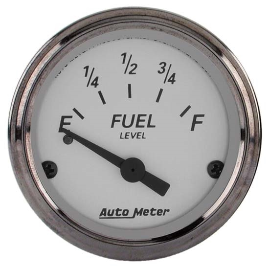 Auto Meter 1907 American Platinum Air-Core Fuel Level Gauge