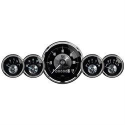 Auto Meter 2003 Prestige Black Diamond 5 Piece Gauge Set