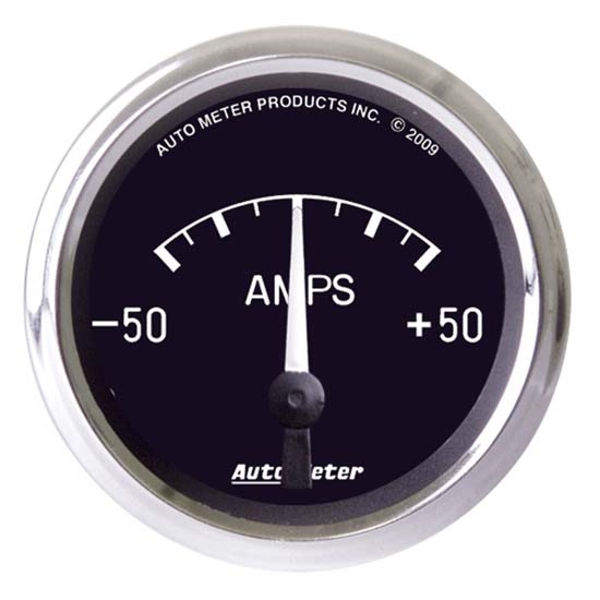 AutoMeter 201012 Cobra Air-Core Ammeter Gauge, 2-1/16 Inch