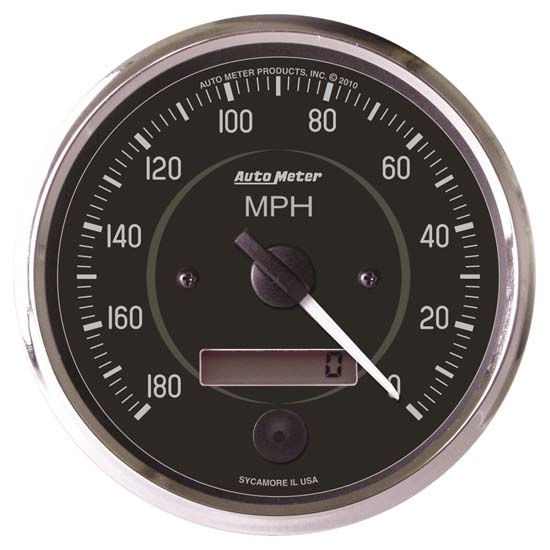 Auto Meter 201013 Cobra Air-Core Speedometer Gauge, 4 Inch