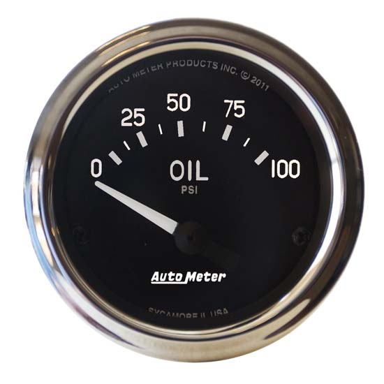Oil Temperature Display Additional Instrument Universal 2 1//16in
