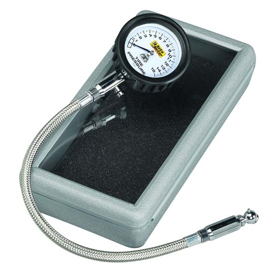 Auto Meter 2159 Mechanical Tire Pressure Gauge, 15 PSI