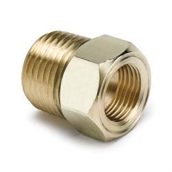 Auto Meter 2264 Temperature Gauge Probe Adapter Fitting, Brass 1/2 NPT