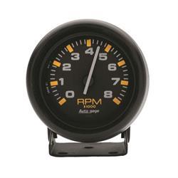 Auto Meter 2305 Auto Gage Air-Core Pedestal Tachometer Gauge