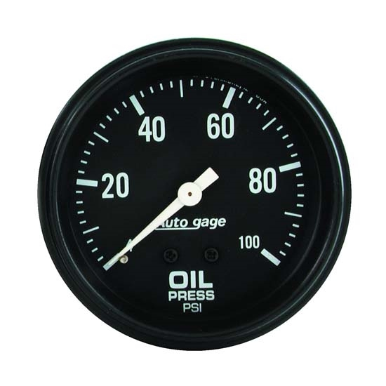Auto Meter 2312 Auto Gage Mechanical Oil Pressure Gauge