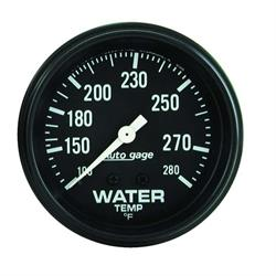 AutoMeter 2313 Auto Gage Mechanical Water Temperature Gauge