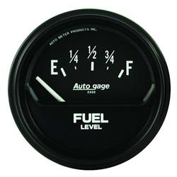 Auto Meter 2316 Auto Gage Air-Core Fuel Level Gauge
