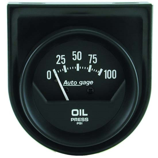 Auto Meter 2360 Auto Gage Mechanical Oil Pressure Gauge