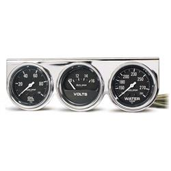 Auto Meter 2399 Auto e 3 Gauge Console, Oil/Volt/Water on gauge parts, gas meter installation diagram, egt gauge diagram, speakers diagram, fuel gauge diagram, gas gauge diagram,