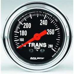 Auto Meter 2451 Traditional Chrome Mechanical Transmission Temp Gauge