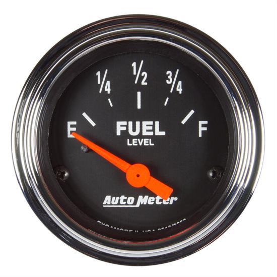"Auto Meter Fuel Level Gauge 3514; Sport-Comp 0-90 Ohms 2-5//8/"" Electrical"
