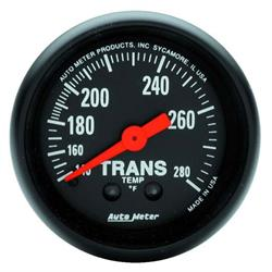 Auto Meter 2615 Z-Series Mechanical Transmission Temperature Gauge