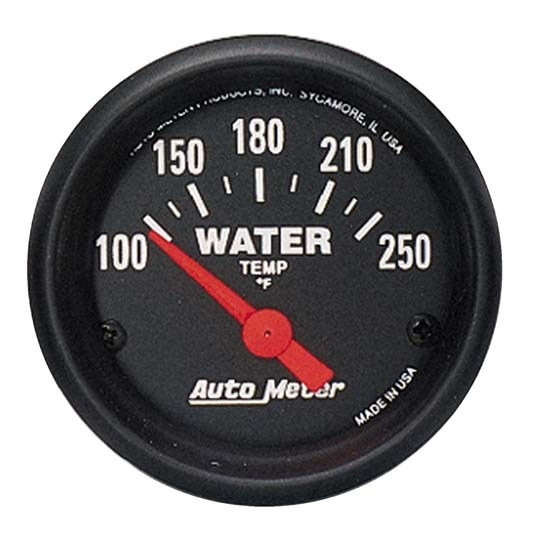 Auto Meter 2635 Z-Series Air-Core Water Temperature Gauge