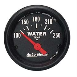 Auto Meter 2635 Z-Series Air-Core Water Temperature Gauge