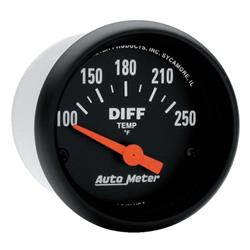 Auto Meter 2636 Z-Series Air-Core Differential Temperature Gauge