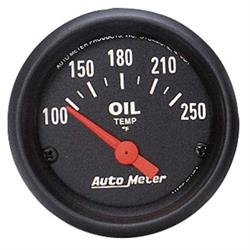 AutoMeter 2638 Z-Series Air-Core Oil Temperature Gauge, 2-1/16