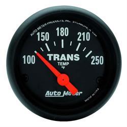Auto Meter 2640 Z-Series Air-Core Transmission Temperature Gauge