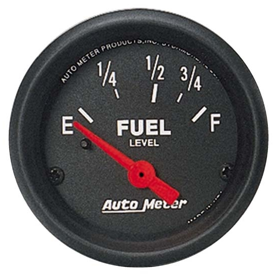 Auto Meter 2641 Z-Series Air-Core Fuel Level Gauge, 2-1/16 Inch