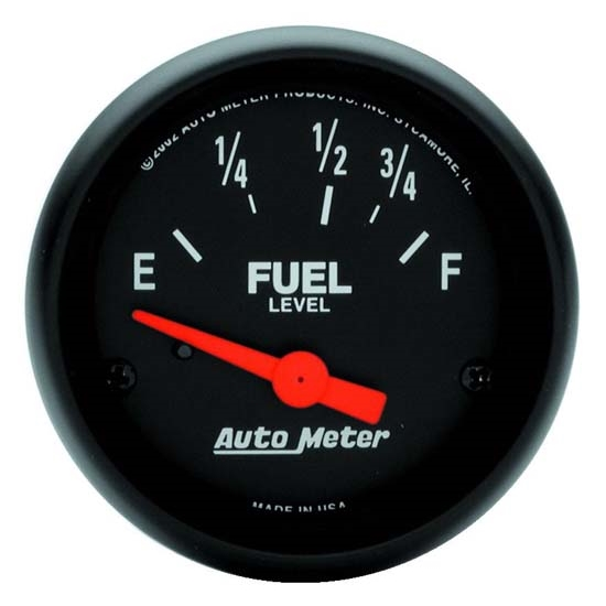 Auto Meter 2642 Z-Series Air-Core Fuel Level Gauge, 2-1/16 Inch