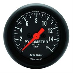 Auto Meter 2654 Z-Series Digital Stepper Motor Pyrometer Gauge