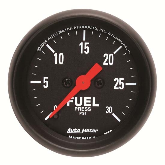 Auto Meter 2660 Z-Series Digital Stepper Motor Fuel Pressure Gauge