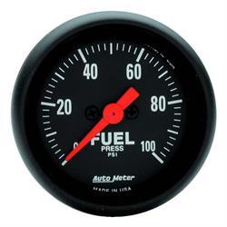 Auto Meter 2663 Z-Series Digital Stepper Motor Fuel Pressure Gauge