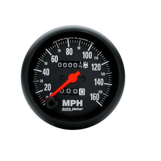 SPEEDO 160 MPH AUTO METER 5888 3-3//8/'/' PHANTOM ELEC