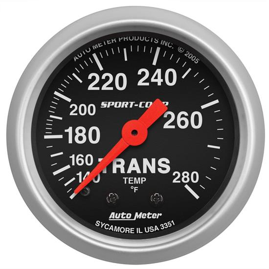 AutoMeter 3351 Sport-Comp Mechanical Transmission Temp. Gauge