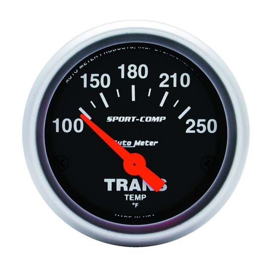 Auto Meter 3357 Sport-Comp Air-Core Transmission Temperature Gauge
