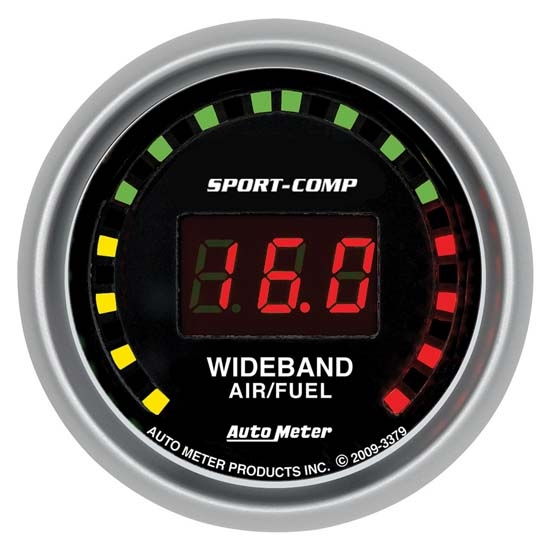 AutoMeter 3379 Sport-Comp Digital Wideband Air/Fuel Ratio Gauge