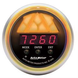 Auto Meter 3389 Sport-Comp Pro-Shift Digital Shift-Light Gauge, Stage3