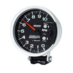 Auto Meter 233902 Autogauge Series Memory Tachometer, 5 Inch Diameter