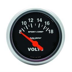 1823391_R_e9b21521 4bc5 44ca a25c fb5ac18ab8df stewart warner 82391 deluxe voltmeter gauge, 2 1 16 inch stewart warner voltmeter wiring diagram at couponss.co