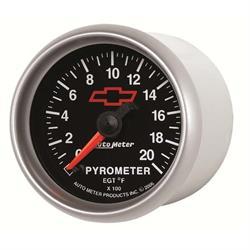 Auto Meter 3645-00406 GM Black Digital Stepper Motor Pyrometer Gauge